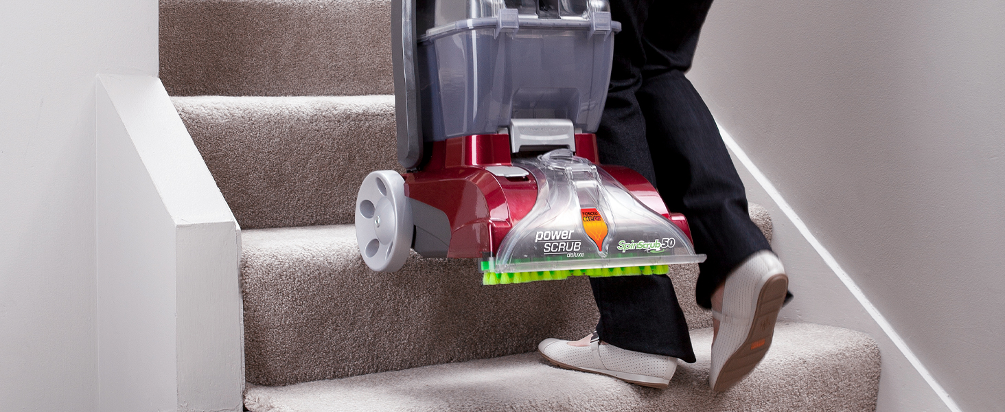 hoover power scrub deluxe carpet cleaner machine shampooer for pets pet carpet rug home stains wine