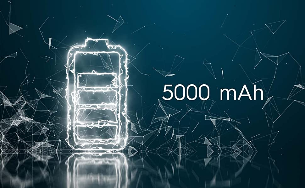Powerful 5000mAh Battery
