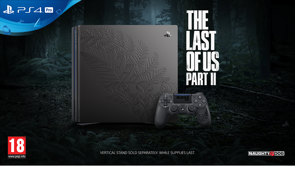 ps4 pro playstation the last of us part ii 2 limited edition console