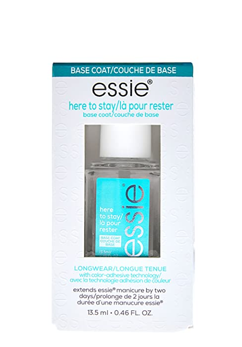 essie base coat, essie here to stay, long lasting nail color