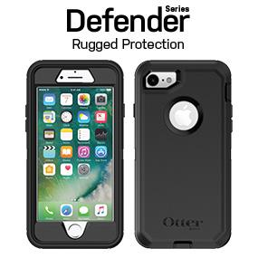 half off 635eb 8de8f OtterBox DEFENDER SERIES Case for iPhone 8 & iPhone 7 (NOT Plus) - BLACK