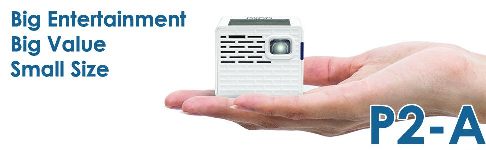 aaxa mini led pico projector p2-a