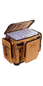 Plano 3700 XL guide series tackle storage bag, 3700 XL tackle storage solution, KastKing, tackle bag