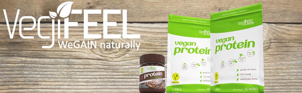 VegiFEEL Protein: WeGAIN naturally