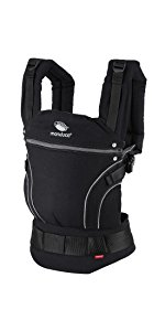 manduca PureCotton Babytrage ChiliRed, baby carrier