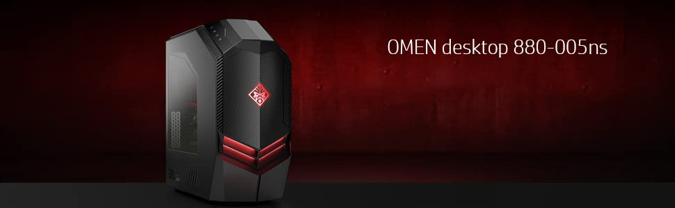 HP OMEN 880-005ns - Ordenador Sobremesa Gaming (Intel Core i5-7400 ...