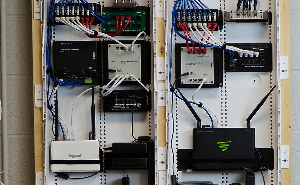 legrand - onq ac1068 8-port cat 6 network interface module, yellow - -  amazon.com  amazon.com