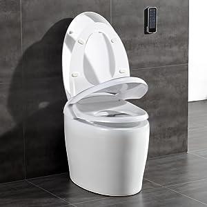 Ove Decors Tuva Tankless Eco Smart Toilet Amazon Com