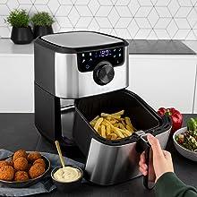 friggitrice ad aria smart princess tecnologica patatine croccanti