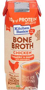 Kitchen Basics Turmeric & Ginger Chicken Bone Broth