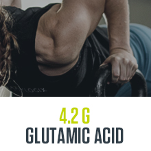 4.2g glutamic acid