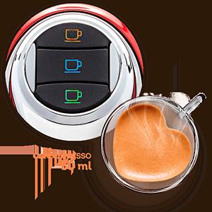 3 Corações - Cafeteira Modo TRES - Café Espresso
