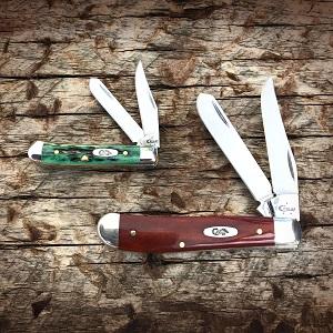 case knives, case knife, pocket knife, folding knife, trapper knife, mini trapper, tiny trapper