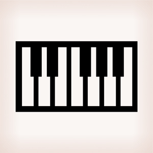 61 Piano Style Keys with Touch Response