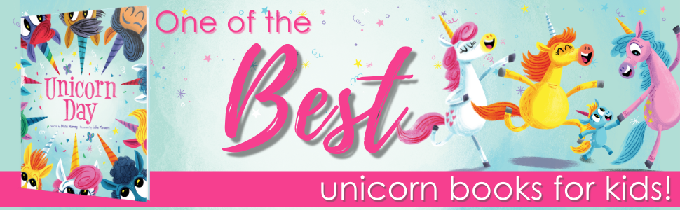 One of the best unicorn books for kids!