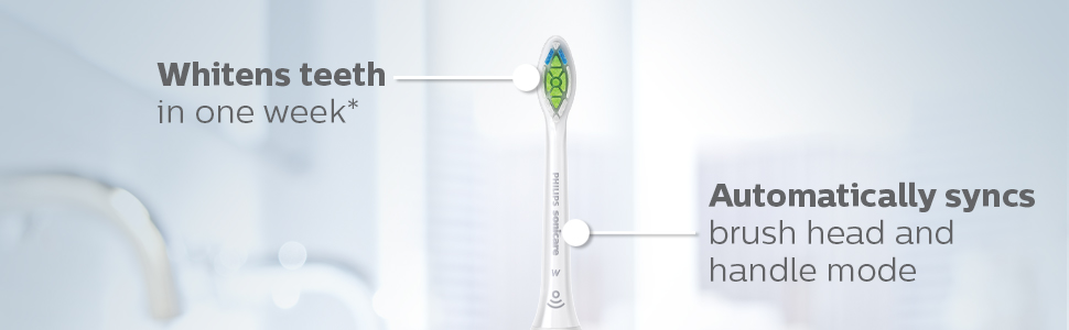 white electric toothbrush phillips sonicare