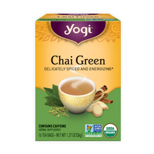 Yogi Tea, Chai Green, 16 Count