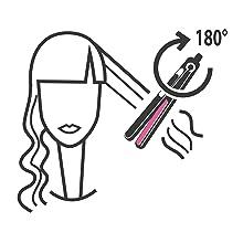 Imetec Bellissima Creativity Infrared B8 100 piastra per capelli con tecnologia a infrarossi