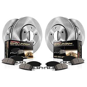 Autospecialty KOE5310 Rear Power Stop Daily Driver OE Brake Kit