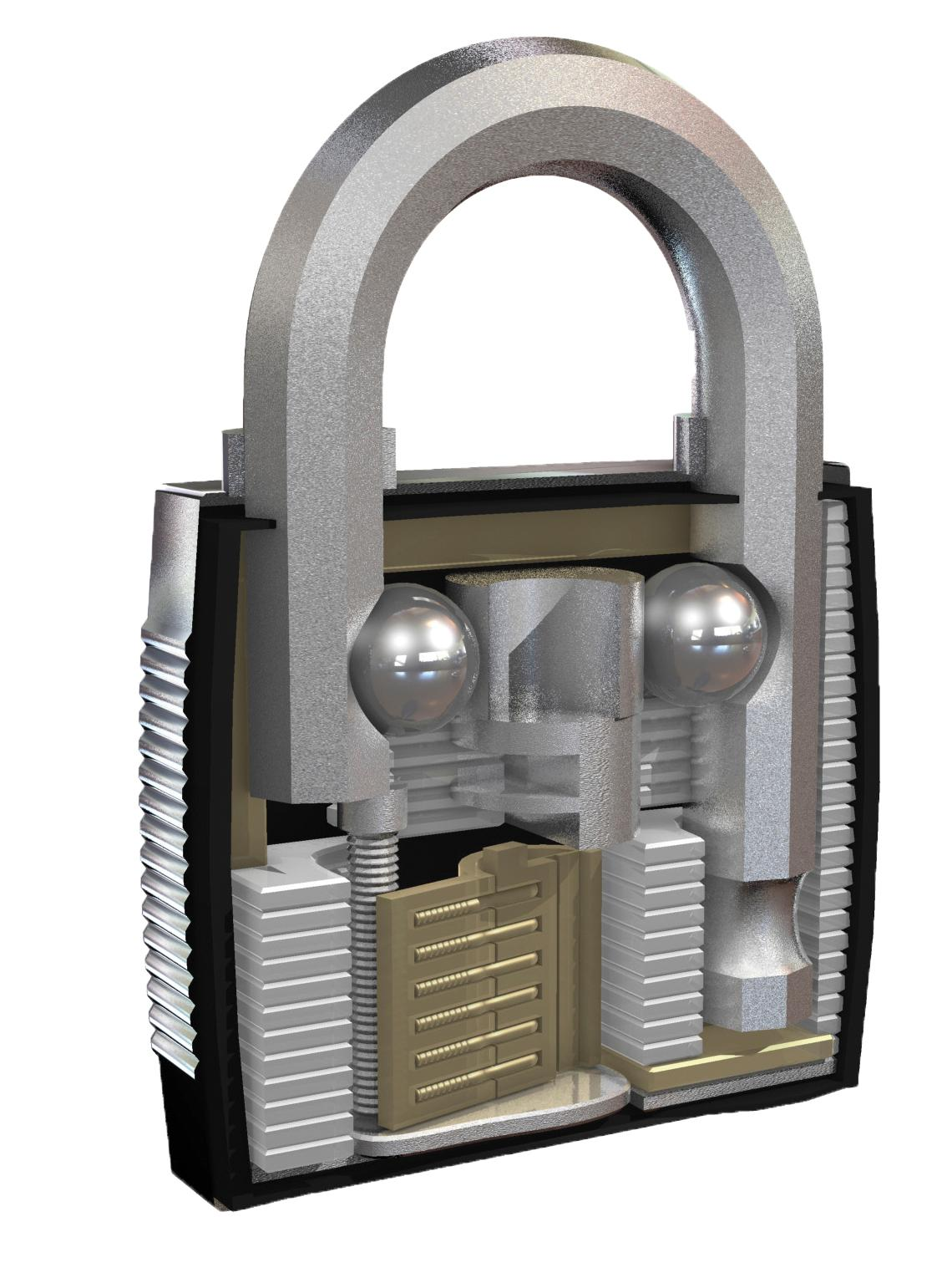 Master Lock M175eurdlf Excell 50mm 4 Digit Resettable