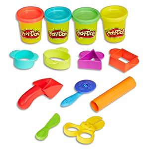 play-doh 4 tub starter set
