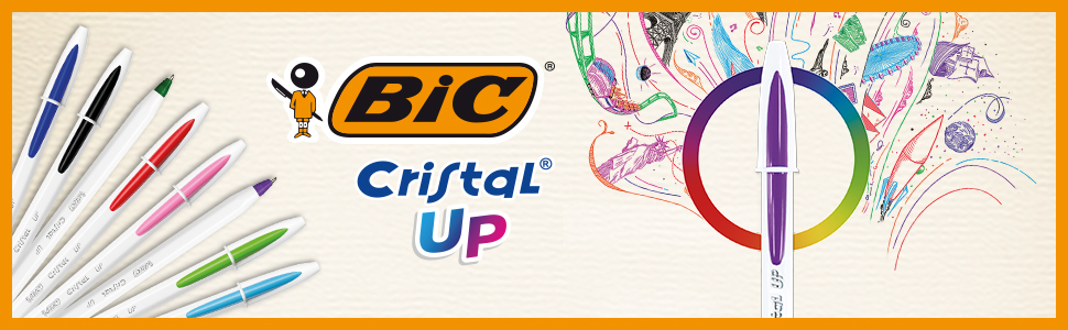 BIC Cristal Up top banner