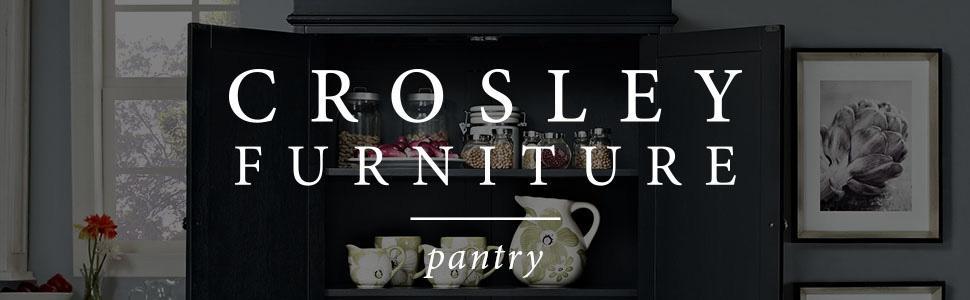 Amazon Com Crosley Furniture Parsons Pantry Cabinet