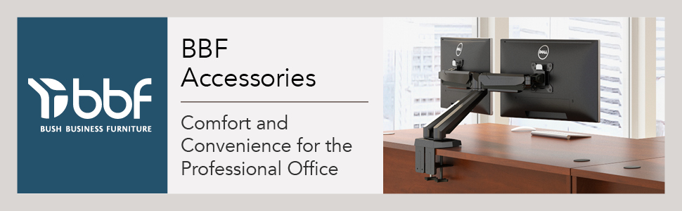 desk accessories,accessory,office products,bush business furniture,monitor arm, keyboard tray,pencil