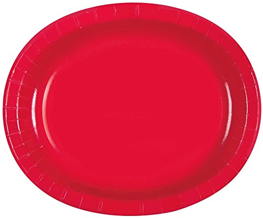 12\  Red Oval Paper Plates 8ct · 9\  Red Striped Dinner Plates 8ct · Red Striped Paper Cake Plates 8ct · Movie Theater Red and White Striped Popcorn Boxes ...  sc 1 st  Amazon.com & Amazon.com: Red \u0026 White Striped Paper Snack Trays 4ct: Kitchen \u0026 Dining