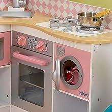 KidKraft 53185 Grand Gourmet Corner Kitchen, Kitchen Playsets ...