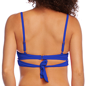 Versatile convertible swimsuit top easy to wear on and off quick
