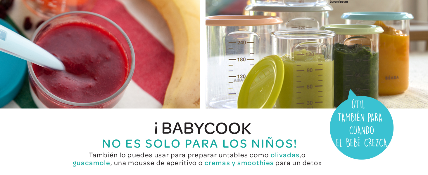 Béaba Babycook Plus - Robot de cocina: Amazon.es: Bebé