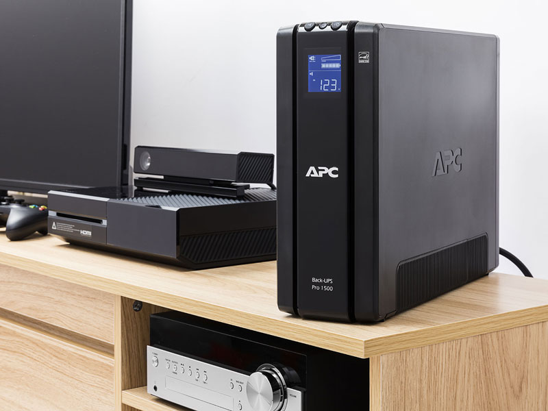 APC Back-UPS PRO Tower BN1500M2 Premium Battery Backup /& Surge Protector