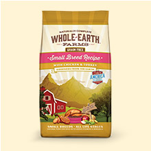 Whole Earth Farms Grain Free Small Breed Recipe