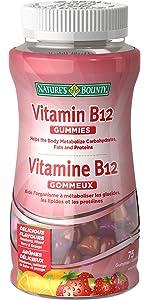b-12, energy, gummy vitamins