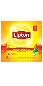 Lipton Black Tea Bags 312 ct