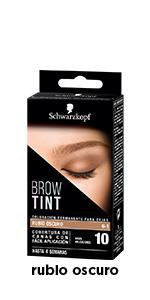 BROW TINT tinte cejas #5-1-castaño claro: Amazon.es: Salud y ...