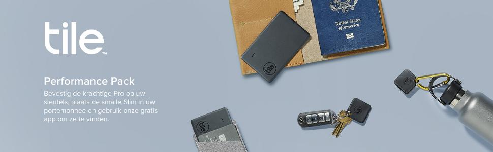 Tile Performance Pack, Tile Pro, Tile Slim, item finder, wallet, keys
