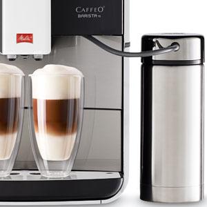 Melitta Barista TS Smart 860-100, cafetera automatica con Molinillo Incorporado para expreso, depósito de Leche, 1450 vatios, 1.8 litros, Acero Inoxidable, W: Amazon.es: Hogar