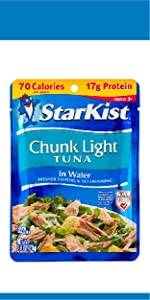 chunk light tuna pouch