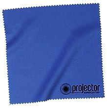 "Projector Supercenter microfiber cloth lens cleaning cloth 6x6"" blue"