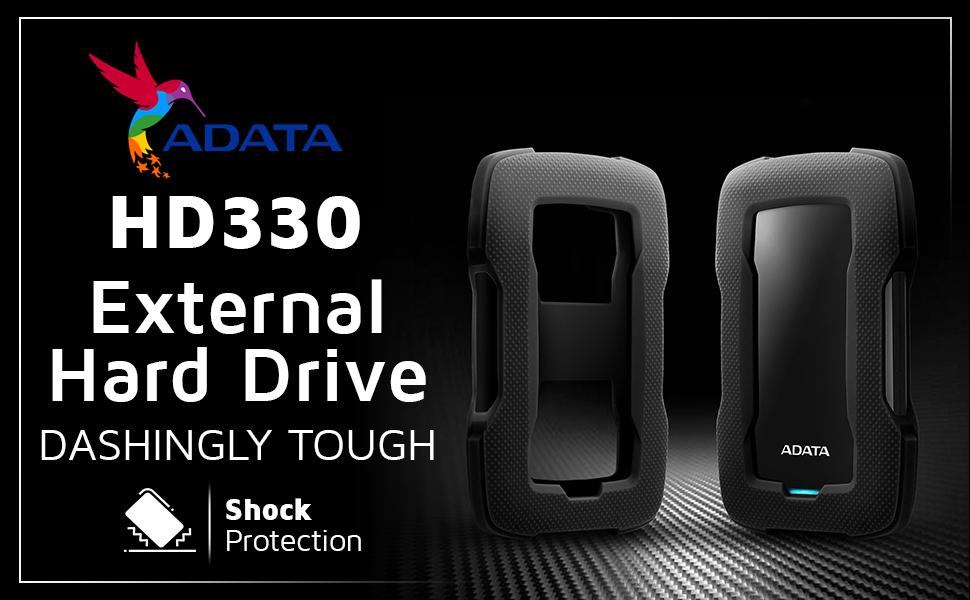 HD330 2TB USB 3.1 Durable External Hard Drive SPN-FOR1