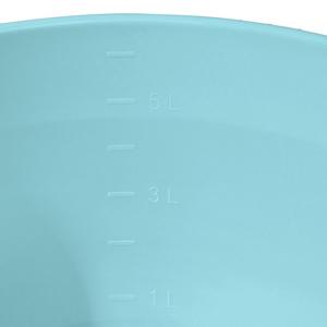 Aenna 32 L Crema Plastica Resistente Unbekannt keeeper Conca per Il Bucato