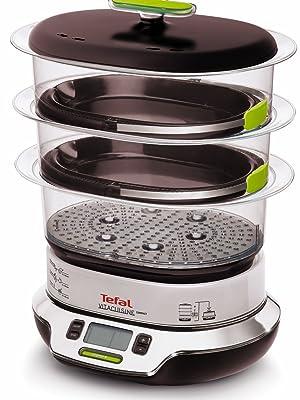 Tefal Vitacuisine Compact VS400333 - Vaporera compacta 1800 W, con ...