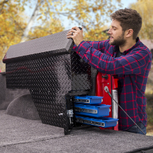 UWS Fender Well Tool Box Truck Bed Storage