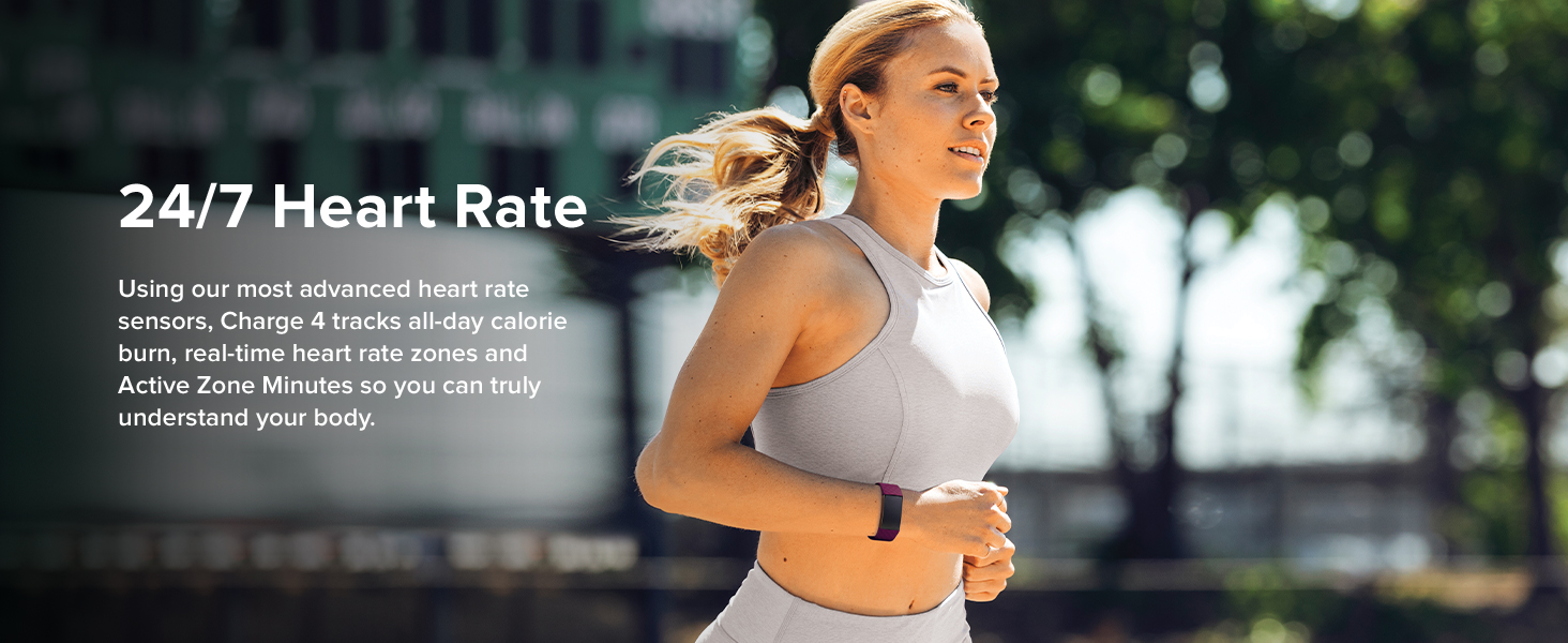Fitbit Charge 4 - 24/7 Heart Rate