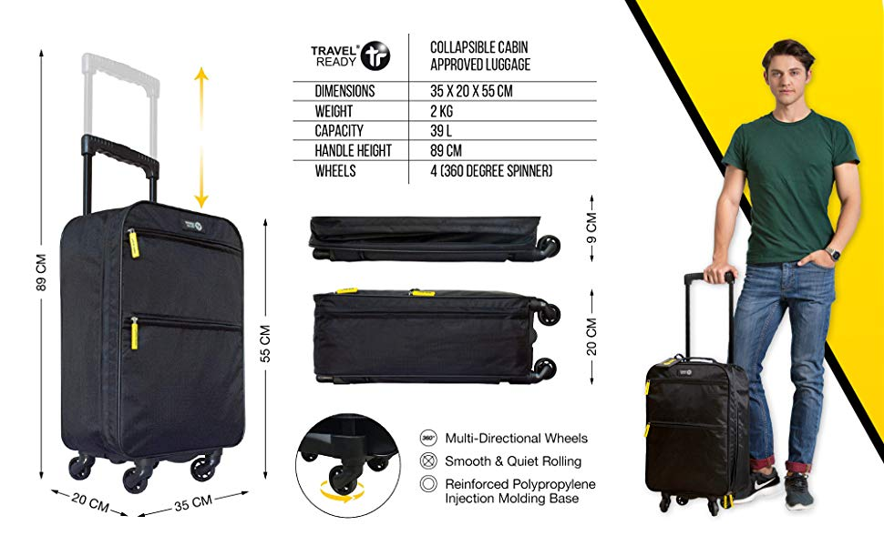 Travel Ready Trolley 4 wheel Product Details