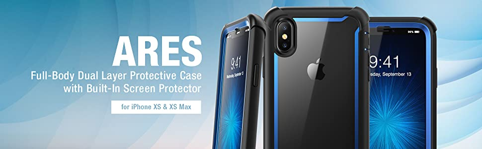 i-Blason Ares Case for iPhone XS, XS Max