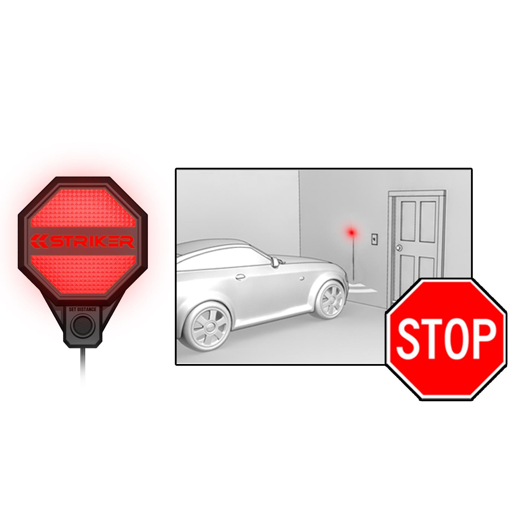 Garage Traffic Lights: Amazon.com: Striker 00246 Garage Parking Sensor: Automotive