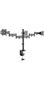 Monitor Arm, Monitor holder, 3 monitor arm, freestanding monitor